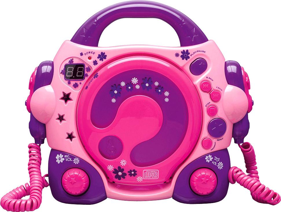 Bigben Karaoke CD Player pink