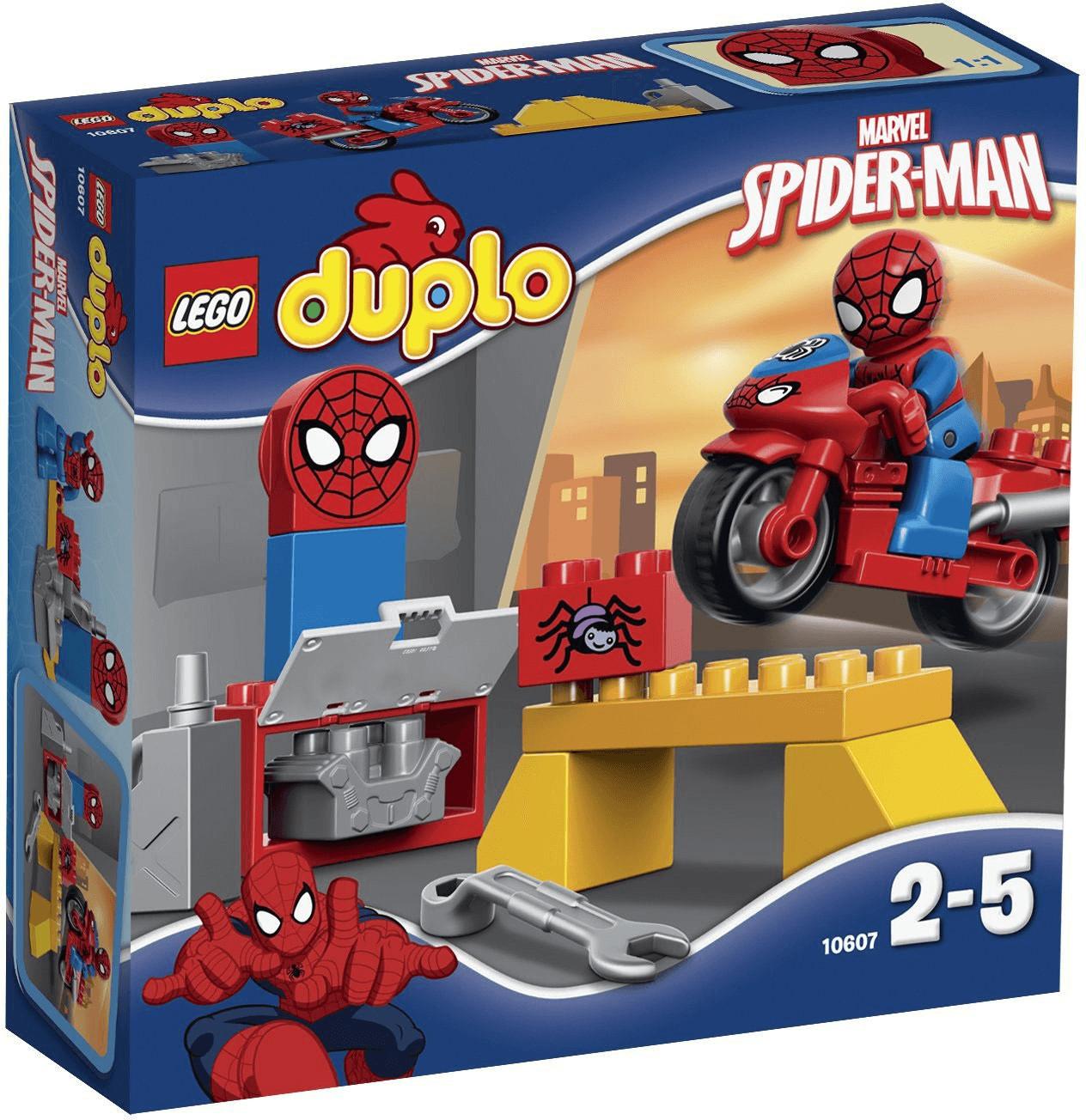 LEGO Duplo Spider-Man - Motorrad-Werkstatt (10607)