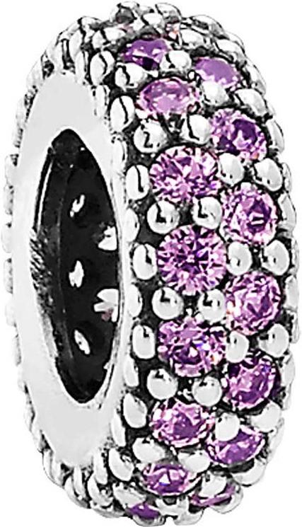 Pandora Zwischenelement Pavé Inspiration lila (791359CFP)