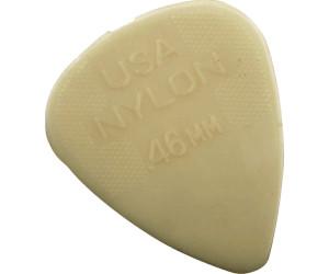 Cream Hochwertige Nylon Gitarre Plektren 0,46 mm in Standard Form im 12er Pack