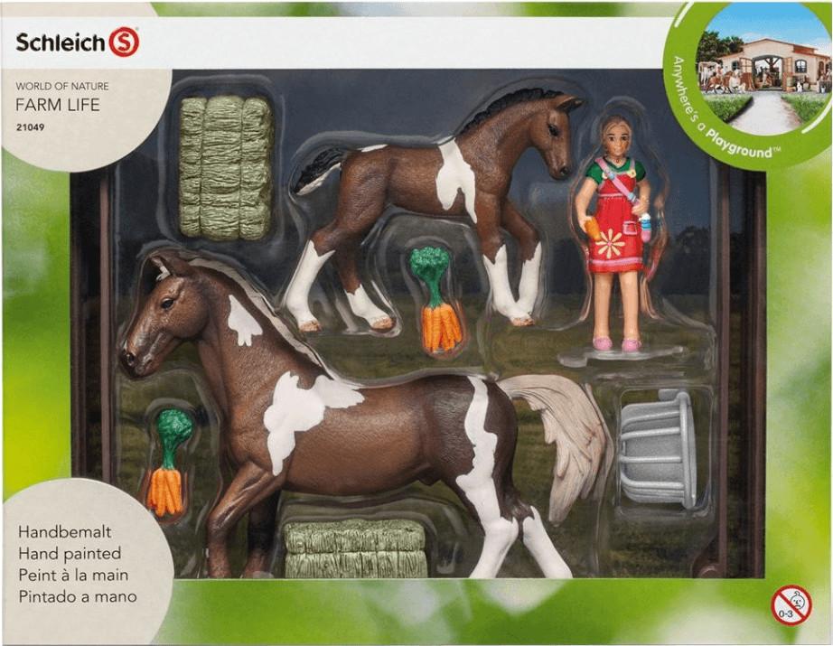 Schleich Pferdefütterung (21049)