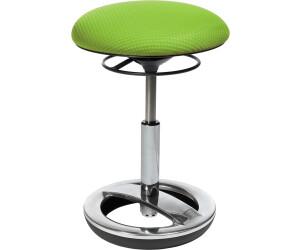 Büro-Hocker Schreibtischstuhl Drehstuhl Topstar Sitness Bob orange weiß B-Ware