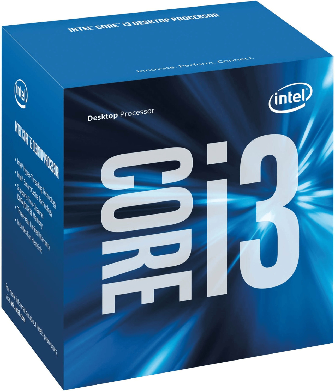 Intel Core i3-6300 Box (Socket 1151, 14nm, BX80662I36300)