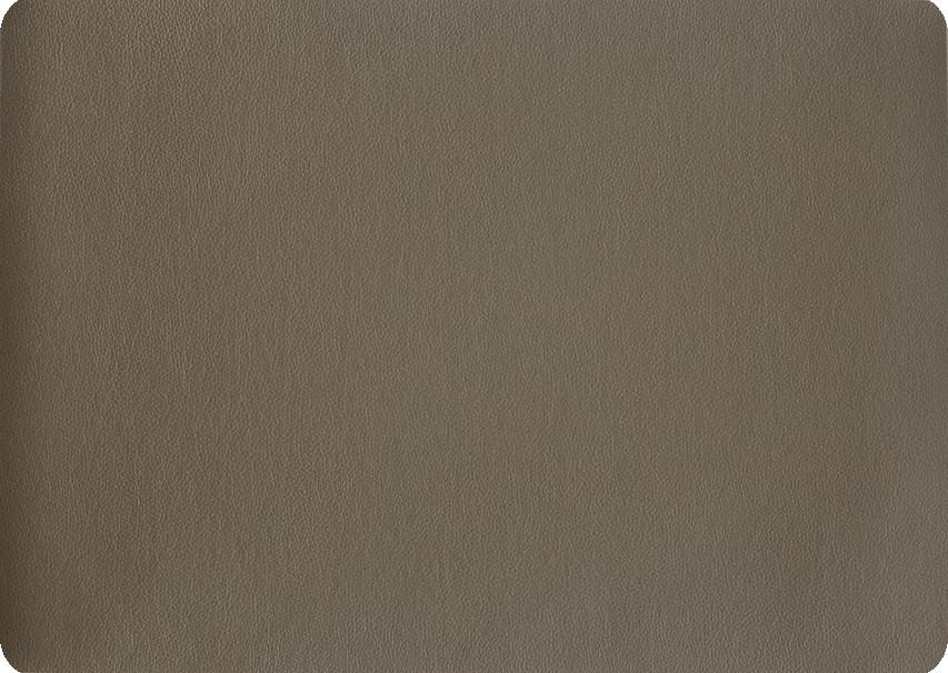 ASA Tischset Kunstleder braun 33 x 46 cm