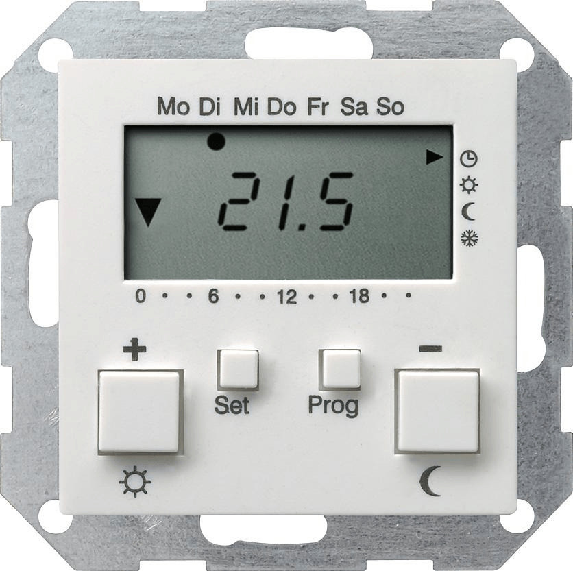 Gira System 55 RTR + Uhr