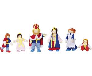 GOKI casa de muñecas-muñecas familia del Rey