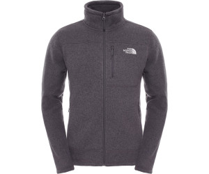 The North Face Gordon Lyons Full Zip Veste Homme, Tnf Dark Grey Heather, 2 XL