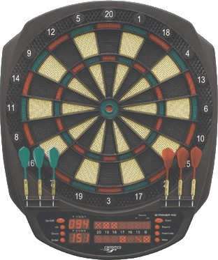 Carromco Elektronisches Dartboard Striker 401