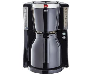 Melitta Look IV Therm Basis 1011-18 Schwarz-Rot Filter-Kaffeemaschine Thermkann