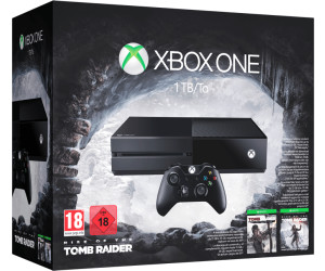 Microsoft Xbox One 1TB + Rise of the Tomb Raider + Tomb Raider: Definitive Edition
