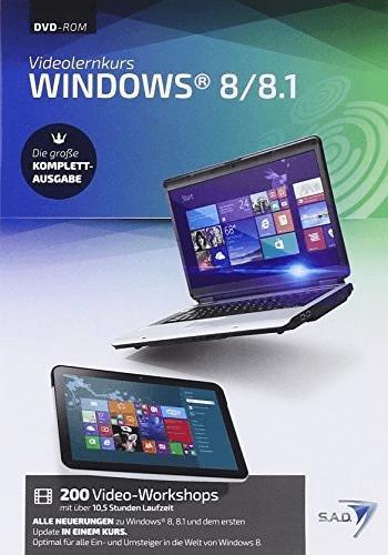 S.A.D. Videolernkurs Windows 8/8.1 - Komplett