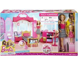 Barbie casa vacanze glam con bambole cml26 a 72 99 for Casa barbie prezzi