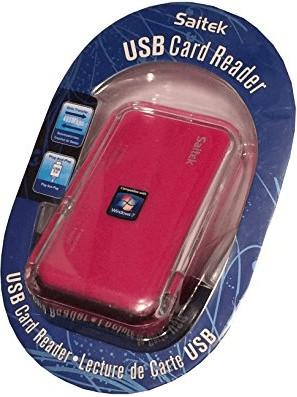 Saitek PC Kartenleser pink