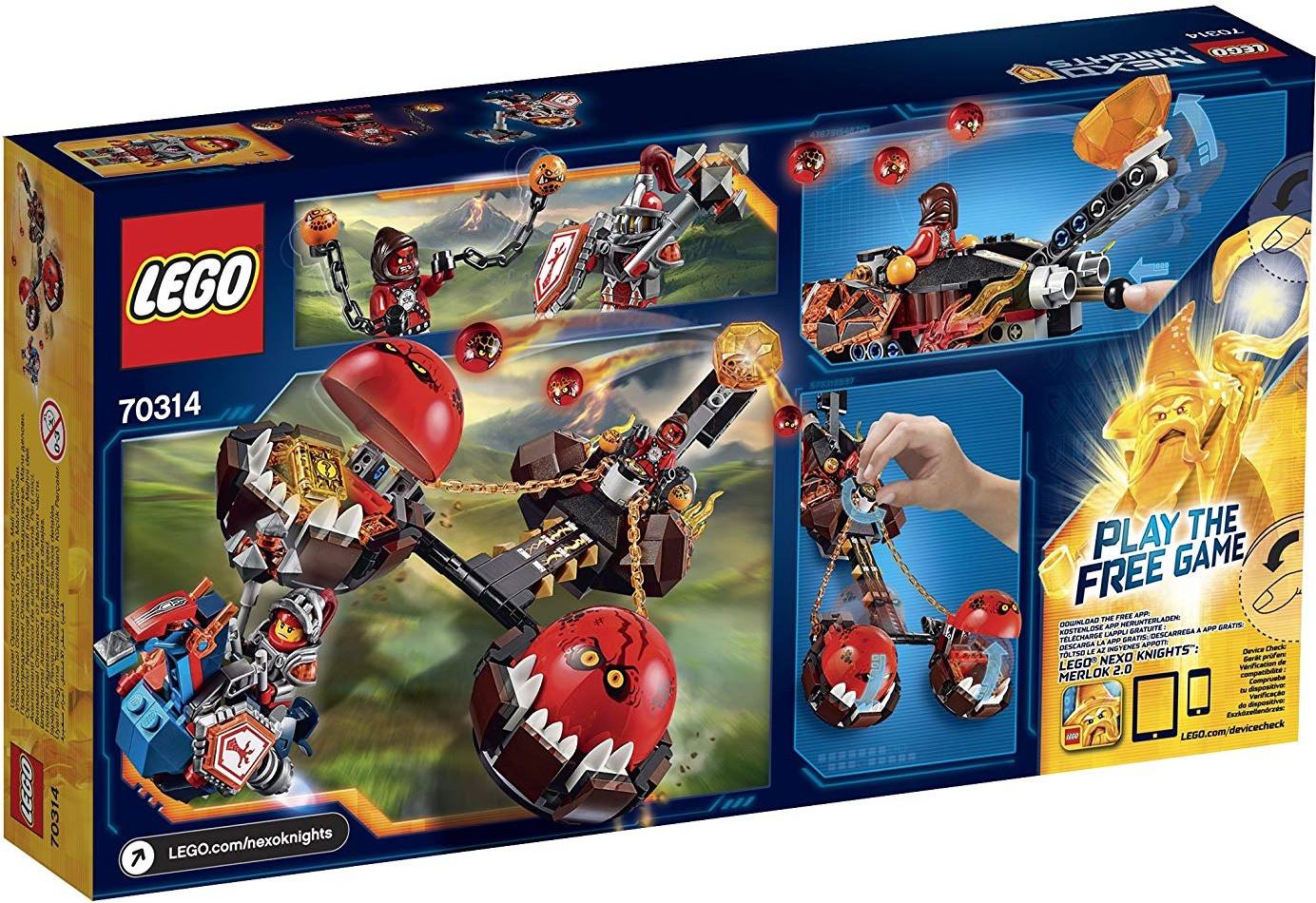 LEGO Nexo Knights - Le chariot du chaos du Maître des bêtes (70314)