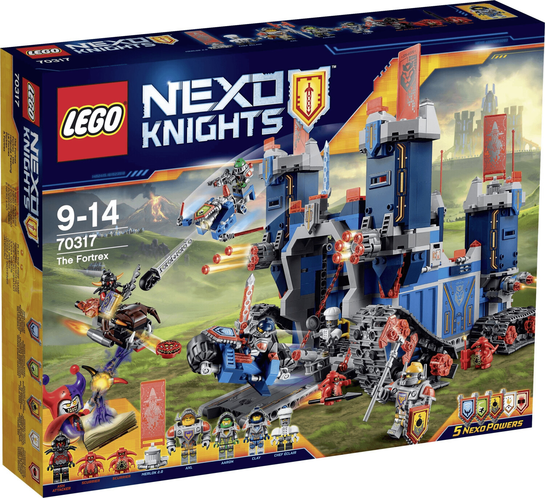 LEGO Nexo Knights - Fortrex die rollende Festung (70317)