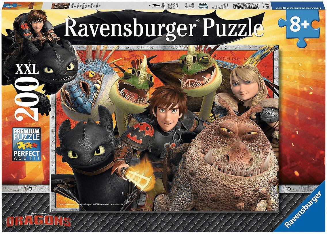 Ravensburger Hicks, Astrid und die Drachen