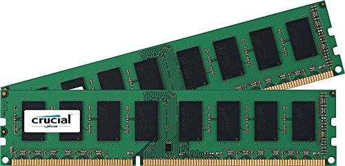 Image of Crucial 16GB Kit DDR3-1600 CL11 (CT2K102464BD160B)