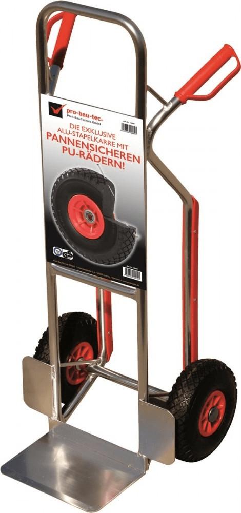 pro-bau-tec Sackkarre mit Treppenrutsche 150 kg (10060)