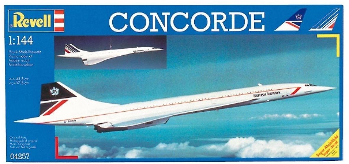 Revell Concorde ´´British Airways´´ (04257)