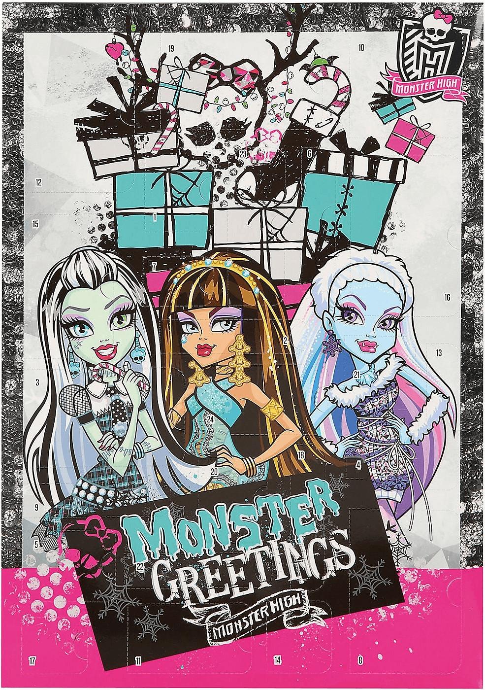 Undercover Monster High Adventskalender 24 Schr...