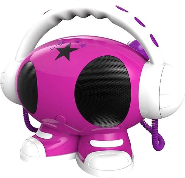 Image of Bigben Karaoke Mulitmedia Player 1GB pink