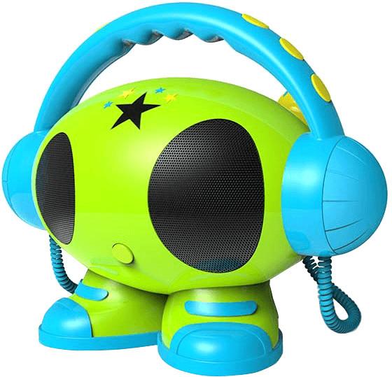 Image of Bigben Karaoke Mulitmedia Player 1GB green