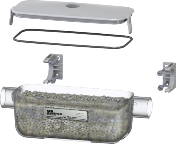 SFA Kondensat-Neutralisator Sanineutral m neutralisations-Granulat, f Entsorgung