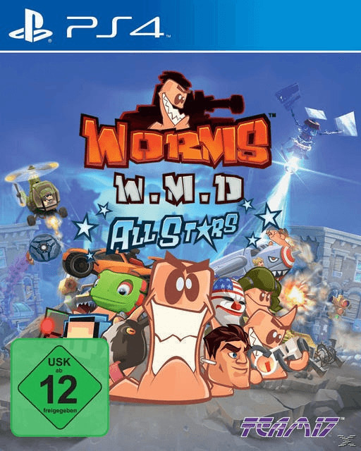 Worms: W. M. D. - Allstars (PS4)