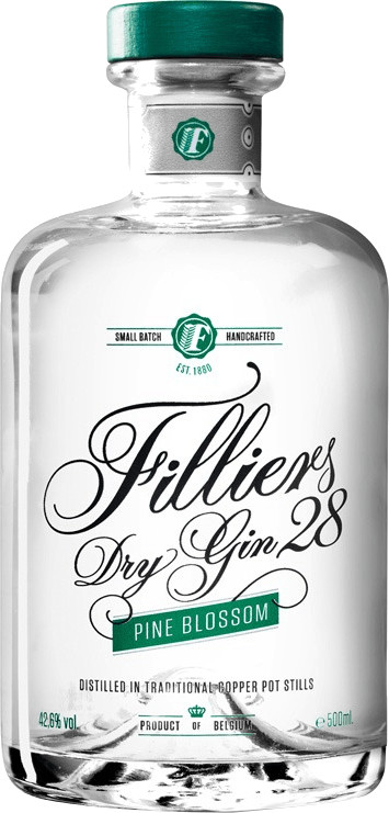 Filliers Dry Gin 28 Pine Blossom 0,5l 42,6%