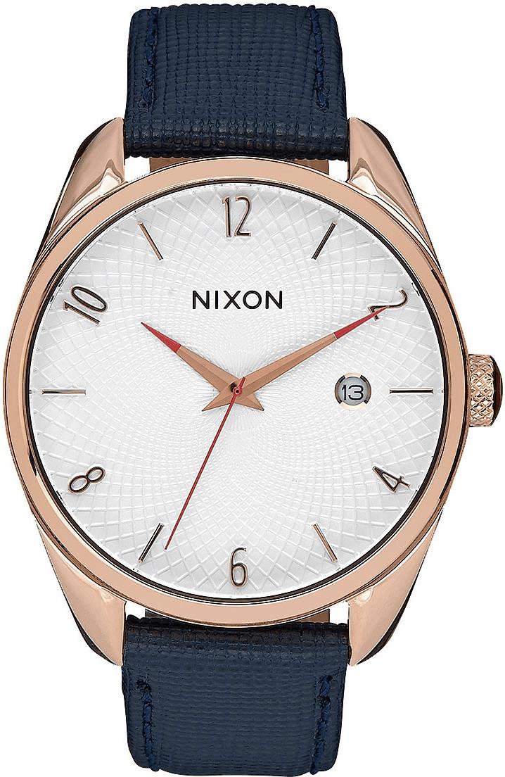 Nixon Bullet Leather roségold/navy (A473-2160)