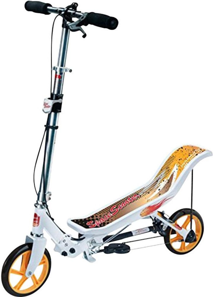 Space Scooter X580 weiß gelb