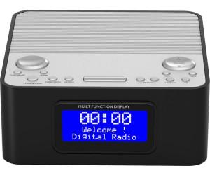 Wecker Dualalarm Soundmaster UR170SW in schwarz DAB+//UKW-PLL Radiowecker