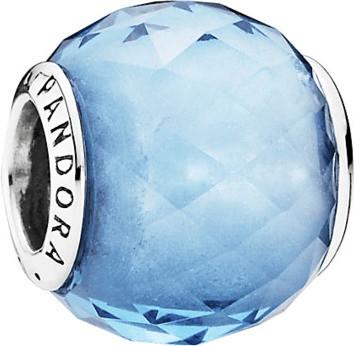 Pandora Charm facetado azul cielo (791722NBS)