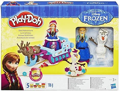 Play-Doh Annas Schlitten