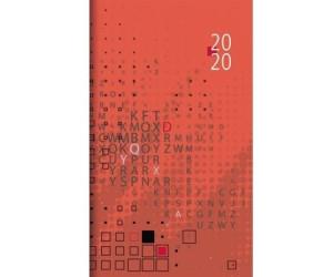 Zettler Taschenplaner 1W//1S 9,5x16cm  Terminkalender Taschenkalender