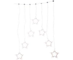 Konstsmide LED Lichtervorhang mit 7 Sternen (4043-103)
