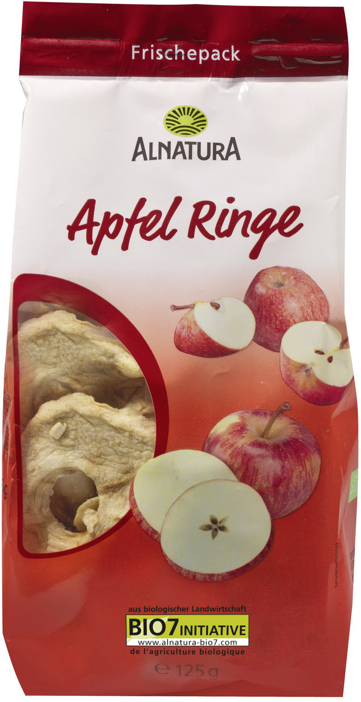 Alnatura Apfel Ringe (125g)