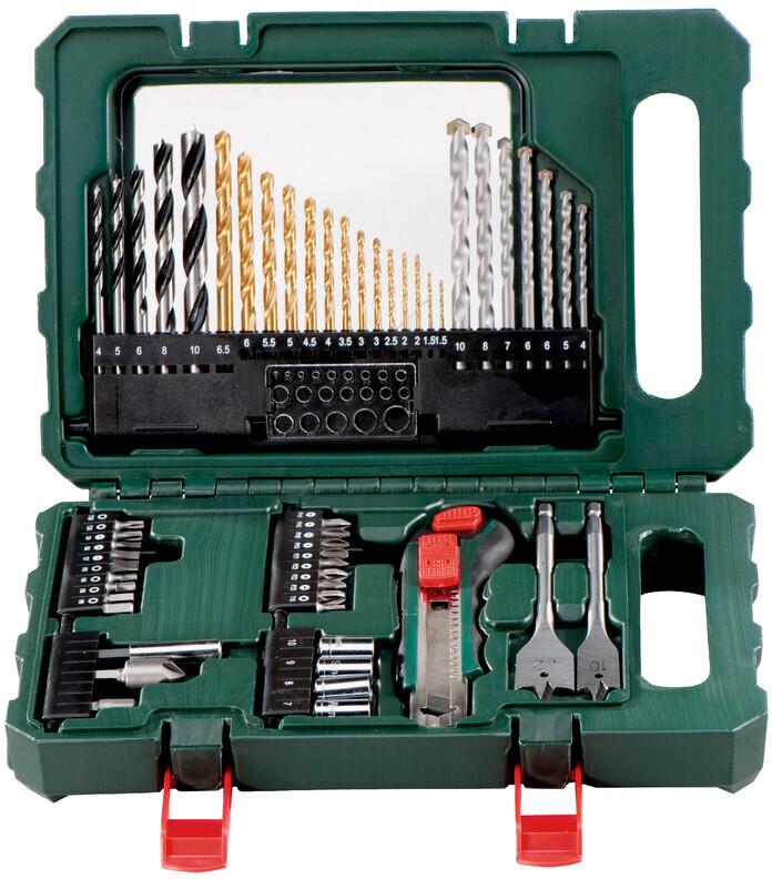 Metabo Promotion Bit-Zubehör-Set 55-tlg. | Baumarkt > Werkzeug > Werkzeug-Sets