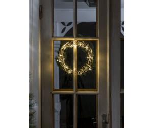 Weihnachtsbeleuchtung Kranz.Konstsmide Led Metallsilhouette Kranz 2890 803 Ab 17 78