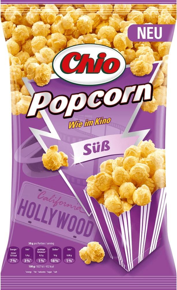 Chio Mikrowellen Popcorn süß (120g)