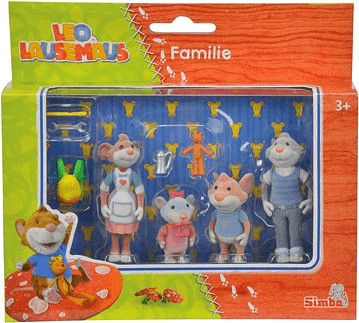 Simba LEO Figurenset Familie