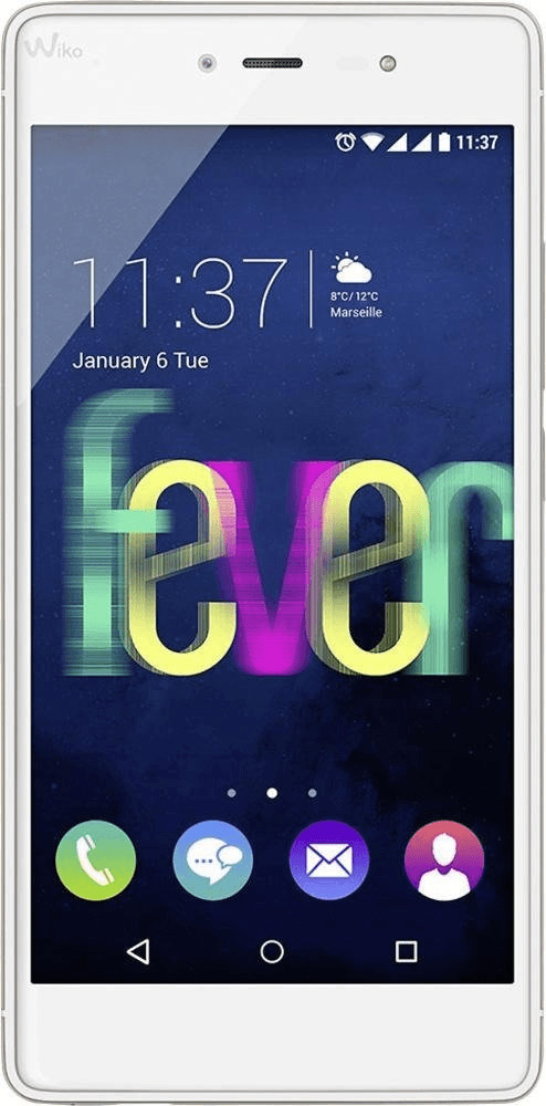 Image of Wiko Fever 4G 3GB bianco