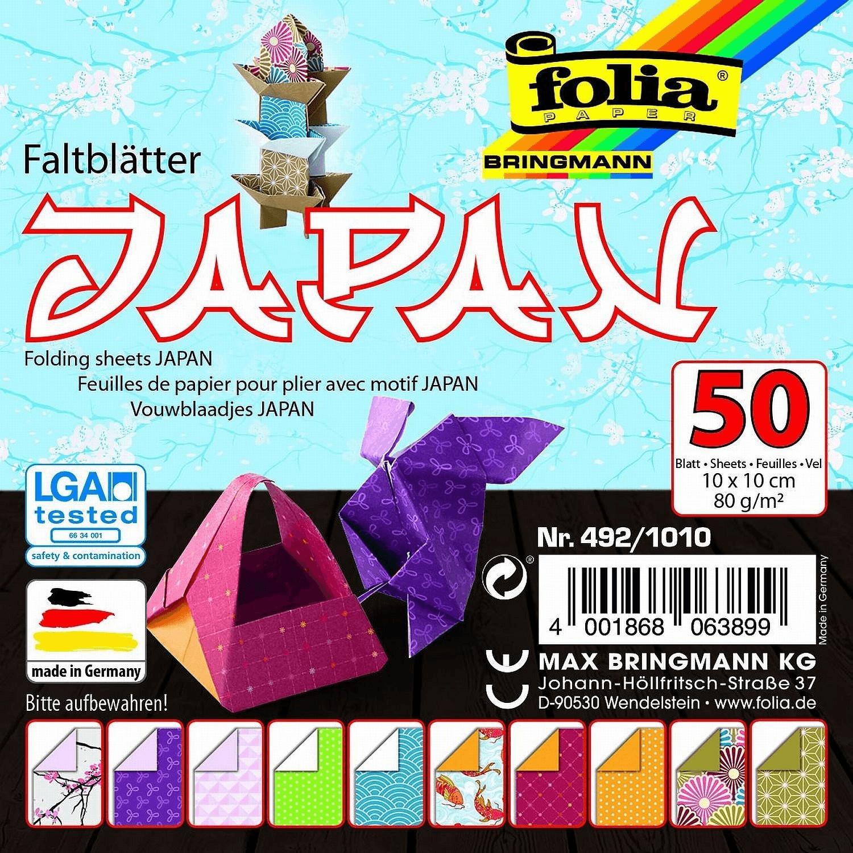 Folia Faltblätter Japan