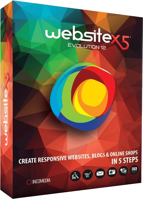 Incomedia WebSite X5 12