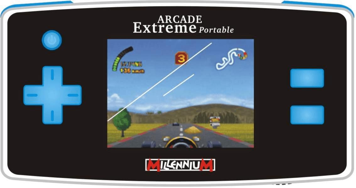 MILLENNIUM 2000 Arcade Extreme Portable blue