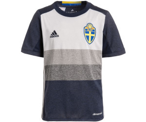 59b045b7ae4 Buy Adidas Sweden Shirt Junior 2016 from £19.98 – Compare Prices on ...