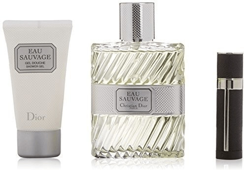 Image of Dior Eau Sauvage set (EdT 100ml + SG 50ml + Mini)