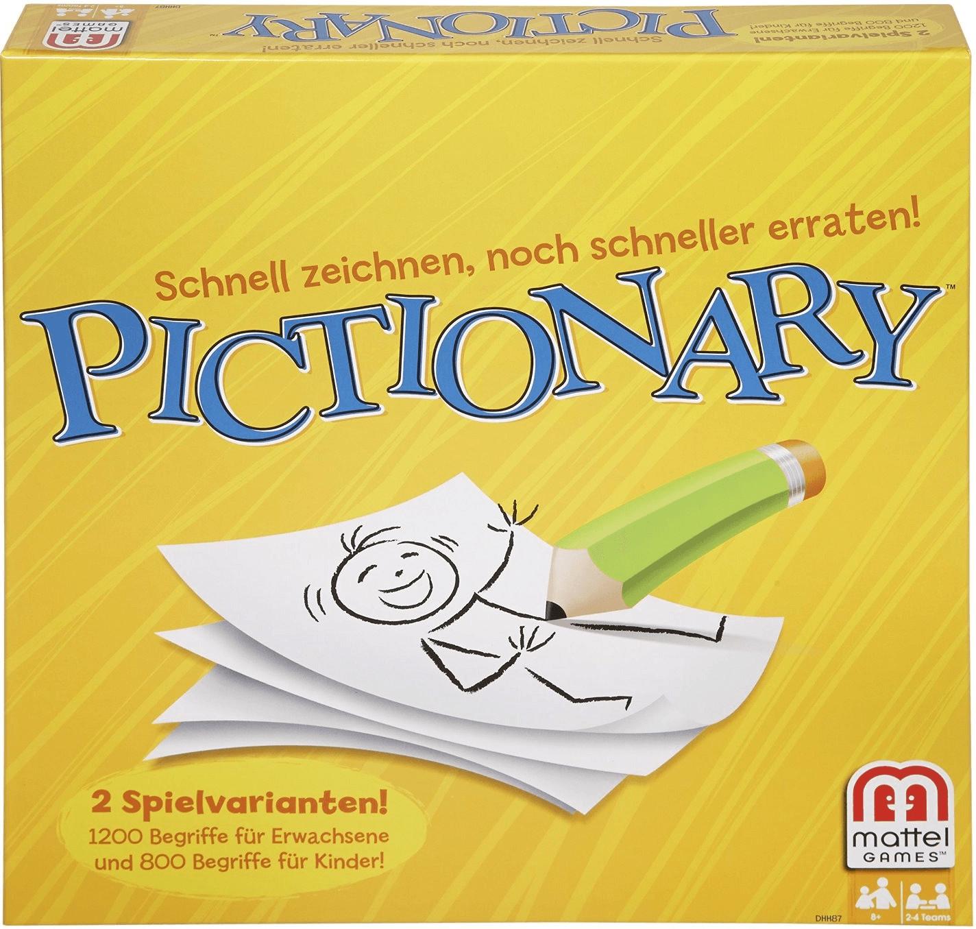 Mattel Pictionary (deutsch)