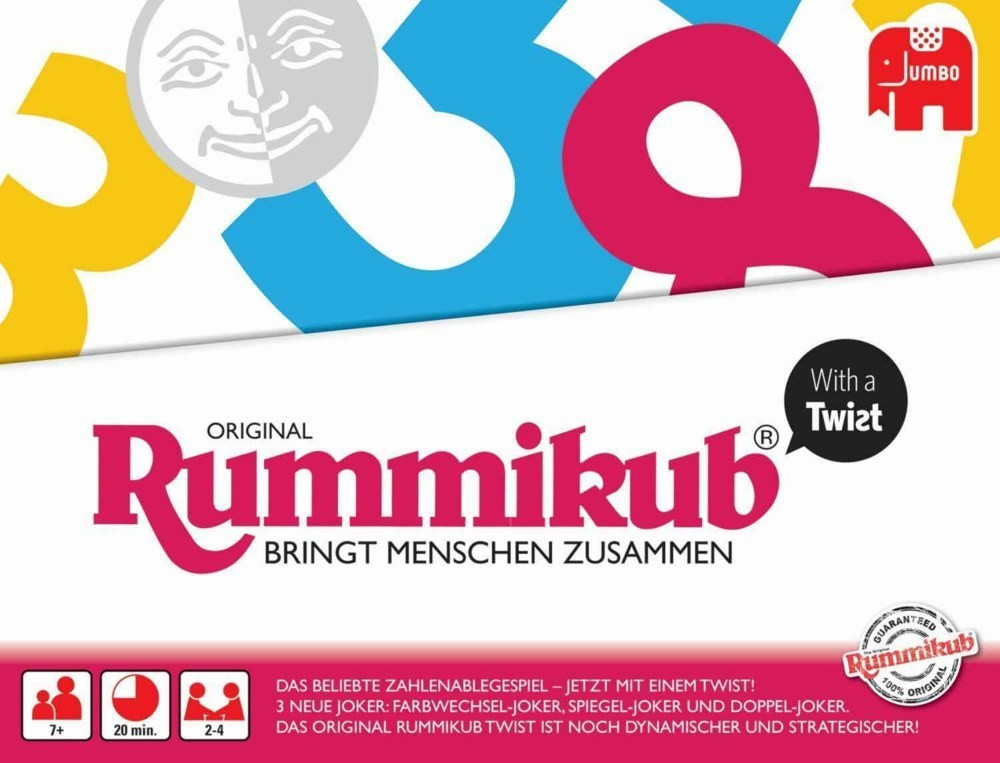 Jumbo Rummikub with a Twist (3978)