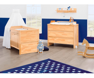 pinolino kinderzimmer fagus sparset ab 793 05 preisvergleich bei. Black Bedroom Furniture Sets. Home Design Ideas
